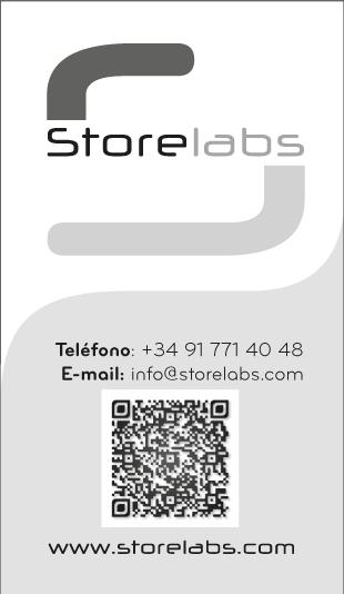 Storelabs.com - Contacto - Tarjeta