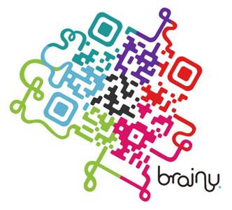 Storelabs.com: código QR de diseño Brainy