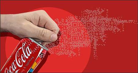 QR Coca cola