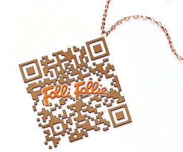 Storelabs.com: código QR personalizado follie