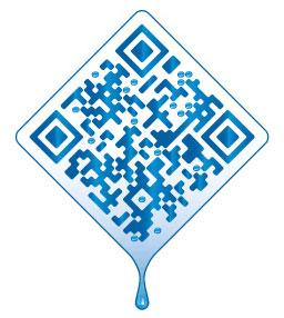 Storelabs.com: Código QR creativo coconut water